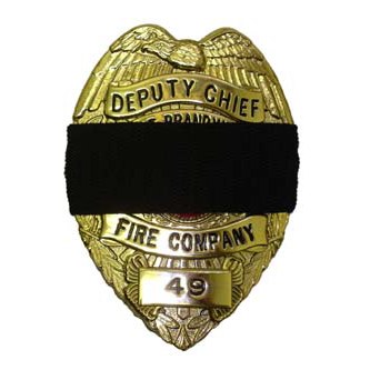 Mourning Badge Cover
