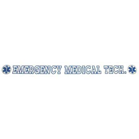 INSIDE WINDOW DECAL, EMERGENCY MEDICAL TECH