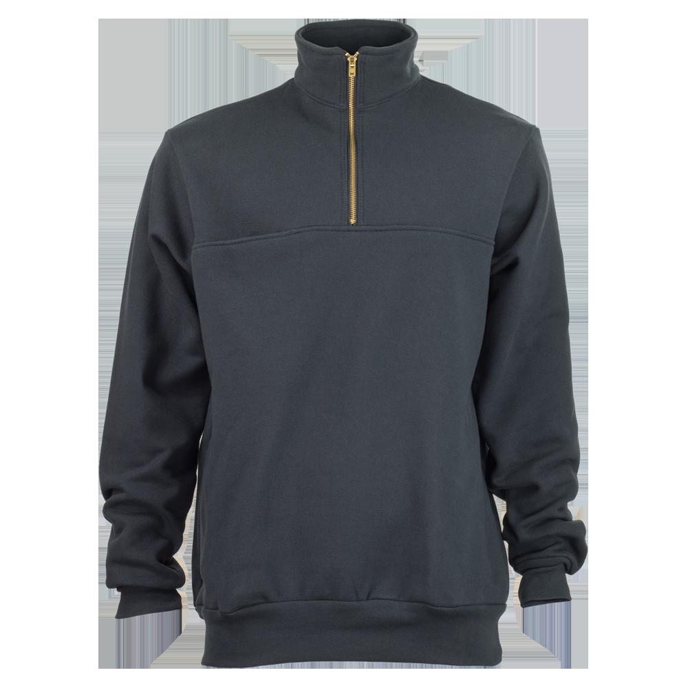 Rubin Brothers, 1/4 Zip Front Firefighter's Sweatshirt, Navy