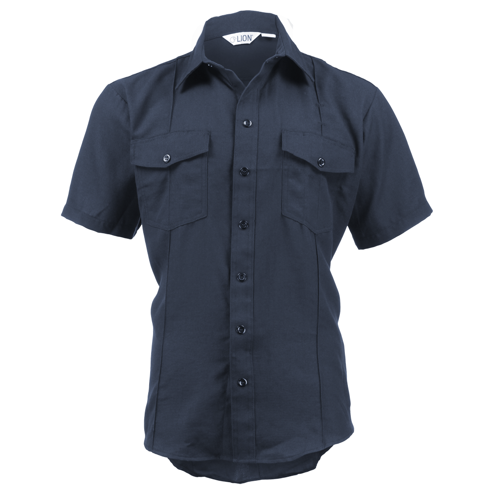 LION StationWear Short Sleeve NOMEX IIIA Battalion Uniform Shirt