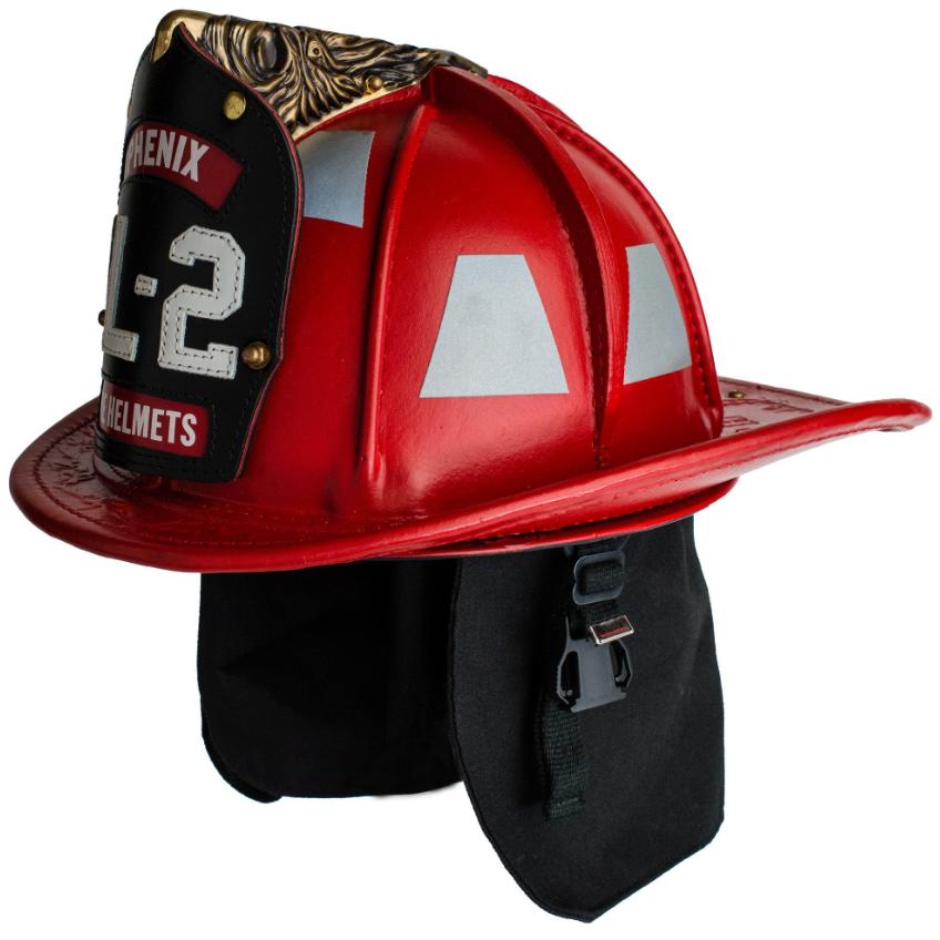 Phenix TL-2 Traditional Leather Firefighting Helmet