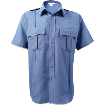 LION StationWear Bravo Short Sleeve Uniform Shirt, Poly/Cotton