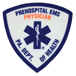 Exclusive PA. Dept. Of Health Prehospital Physician Extender Embroidered Patch
