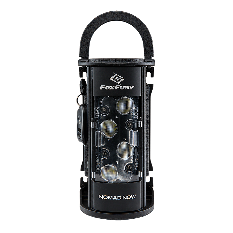 FoxFury Nomad Rechargeable NOW LED Lantern Area-Spot Light, Lithium-Ion Battery