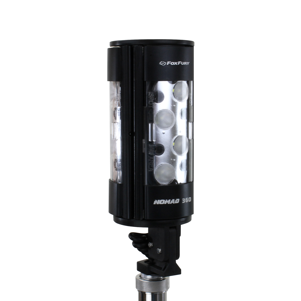 FoxFury Nomad 360 Rechargeable Portable Area Spot and Scene Light