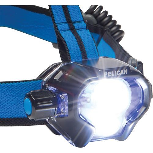 Pelican 2780R Headlamp, LED, 558 Lumens, 3