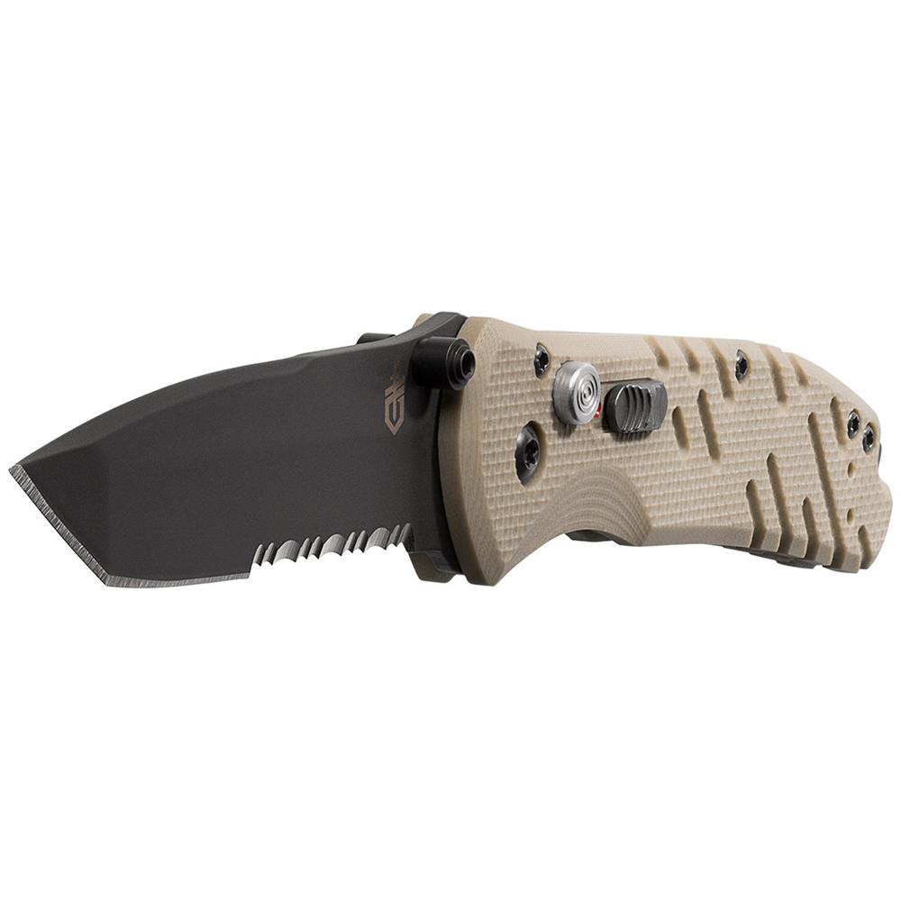 Gerber Propel Downrange AO Knife, Serrated Tanto Blade