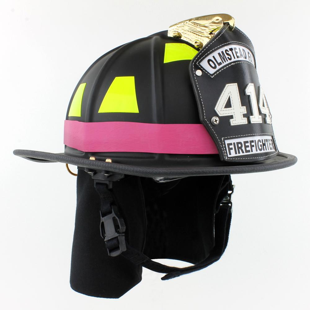 TheFireStore Exclusive Heavy Duty Pink Rubber Helmet Band