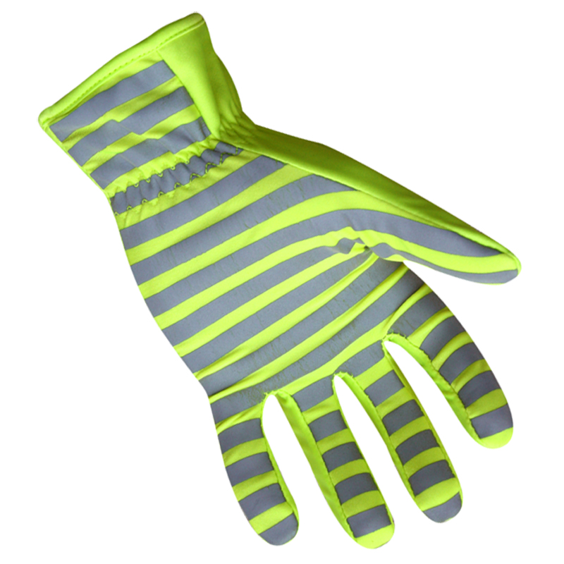 Ringers Hi-Vis/Reflective Traffic Glove, Green