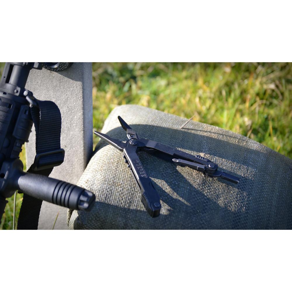Gerber Multi-Plier 600-ST (Sight Tool), Black, with Black Ballistic Nylon Sheath