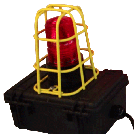 DC Remote Alarm/Strobe for Breather Box® Filtration with 50' Cable