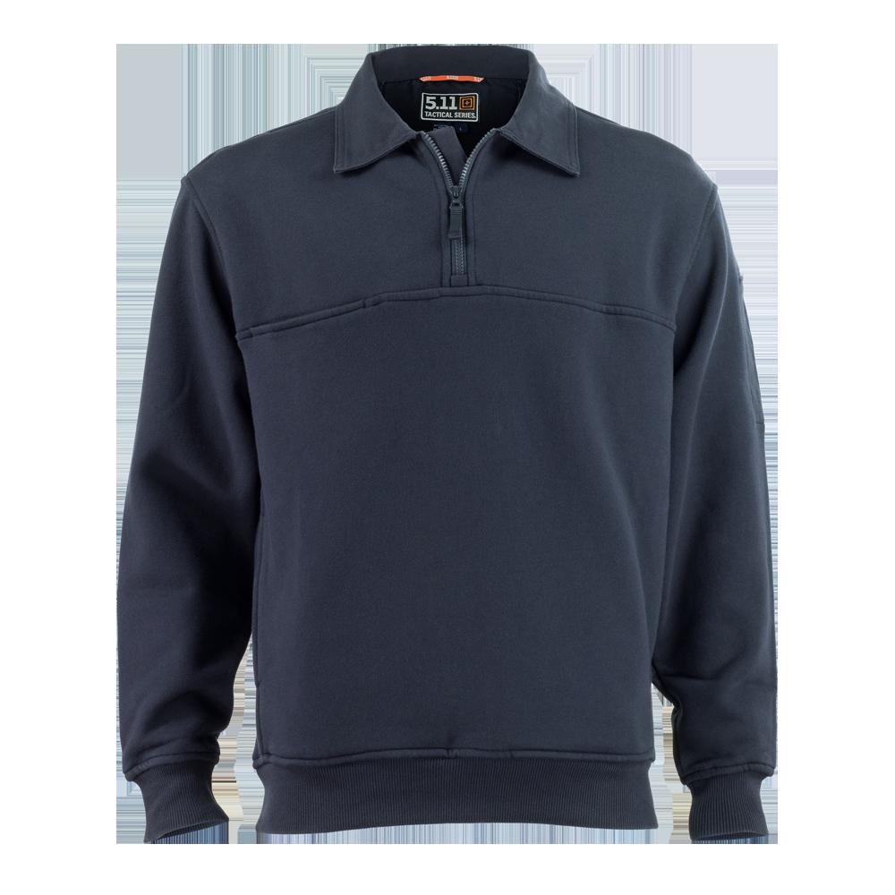 5.11 Tactical 1/4 Zip Job Shirt w/ Canvas Collars & Elbows