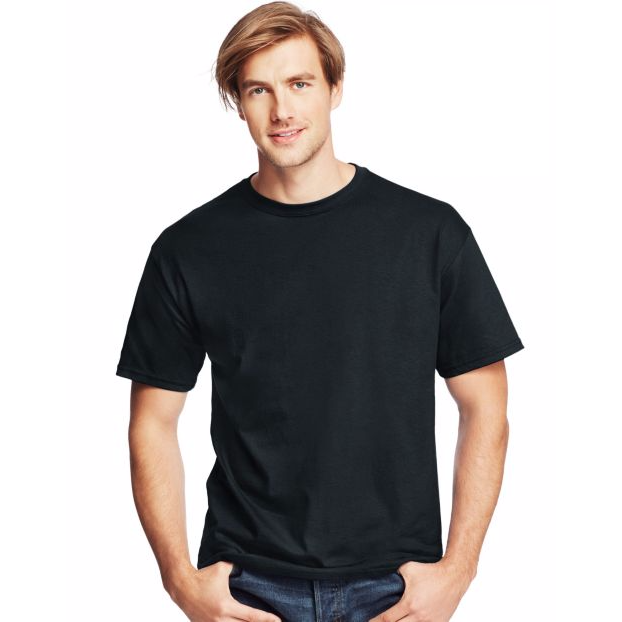 Hanes Heavyweight Cotton Short Sleeve T-Shirt