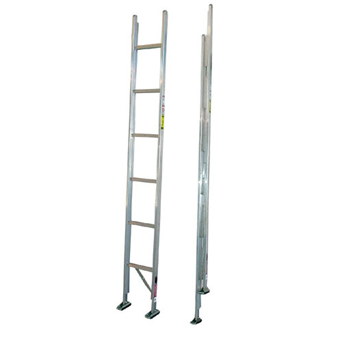 Duo-Safety 585-A Aluminum Folding Closet Ladder