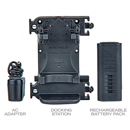 FoxFury Rechargeable Kit for BT Right Angle Flashlights