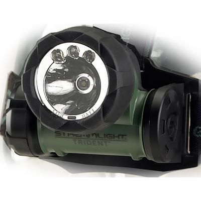 Streamlight Trident Green Headlamp