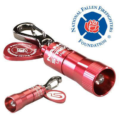 Streamlight National Fallen Firefighters Foundation Red Nano Light