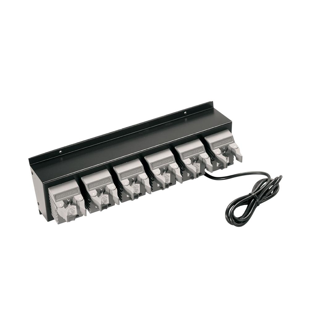 Streamlight 6-unit Bank Charger for Strion Series, 12V DC