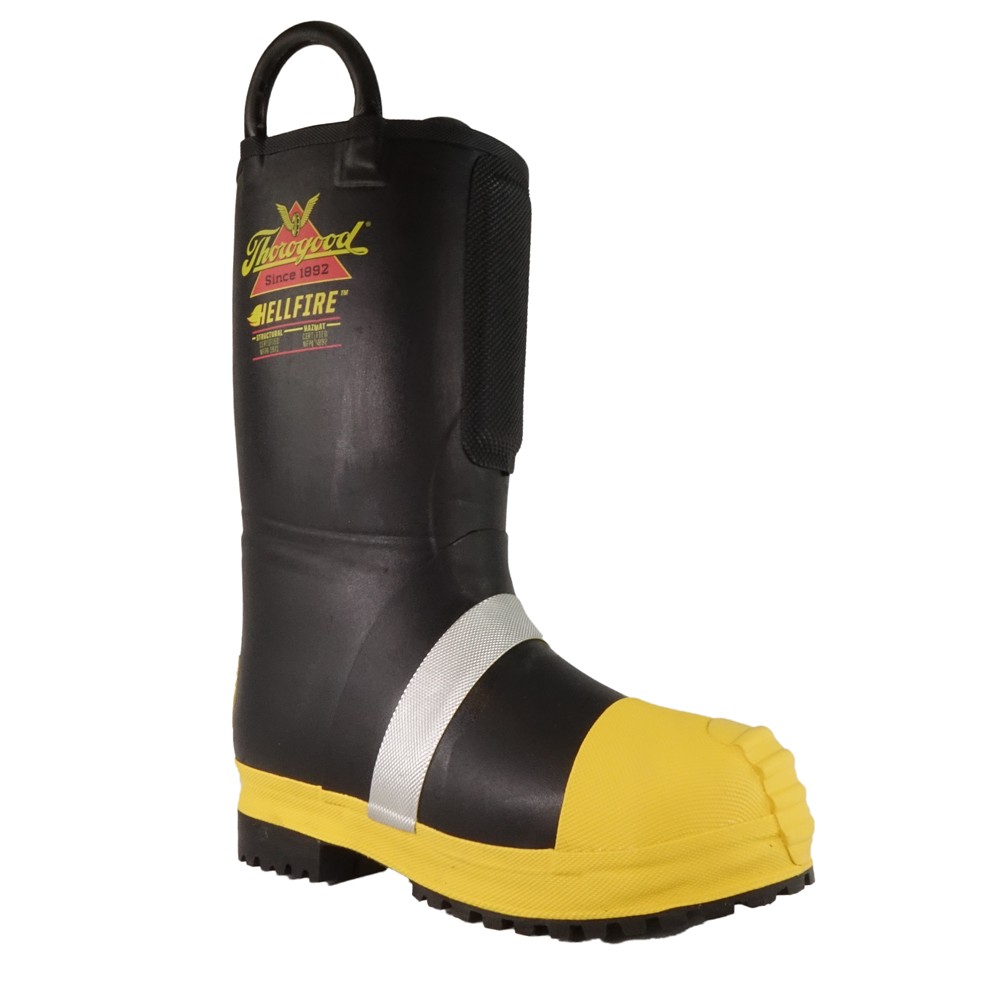 LION by Thorogood Rubber Insulated Firefighting Boot w/ Lug Sole, NFPA