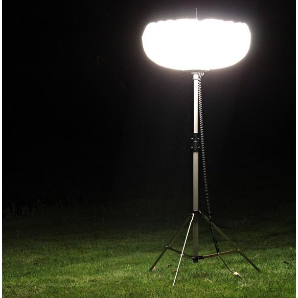 812 Illumination 10 ft Telescoping Light Balloon Tripod