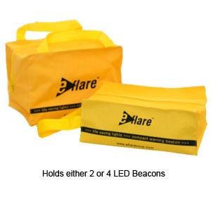 Storage Bags for 2 or 4 Eflare Flashing LED Beacon