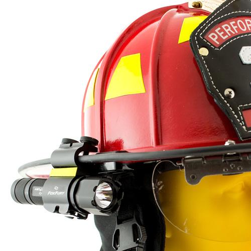 FoxFury SideSlide C-Clamp Side Mounted Helmet Light, 200 Lumens