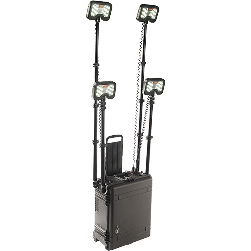 Pelican 9470 Remote Area Lighting System, 4 Lamp Heads