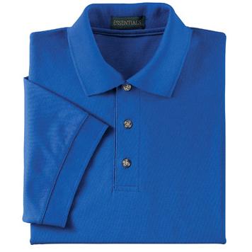 Ash City Men's Pique Polo, Short Sleeve
