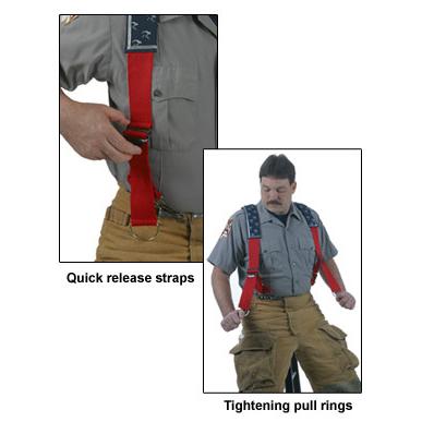 Honeywell Padded Quick-Adjust Suspenders