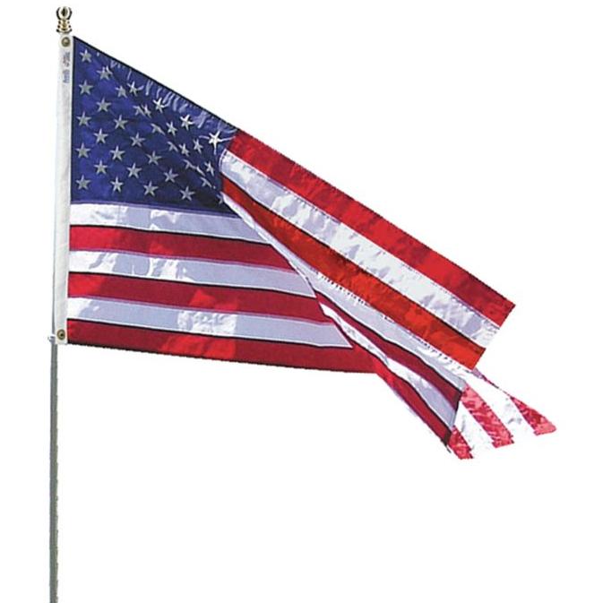 Annin Flagmakers United States Flag Spinning Pole Estate Set