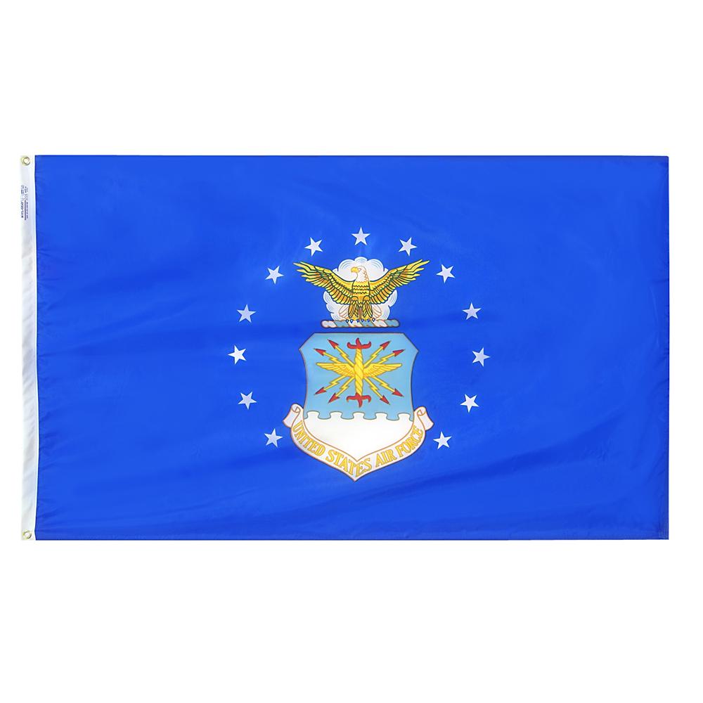 Annin Flagmakers US Air Force 3 x 5' Nyl-Glo Military Flag