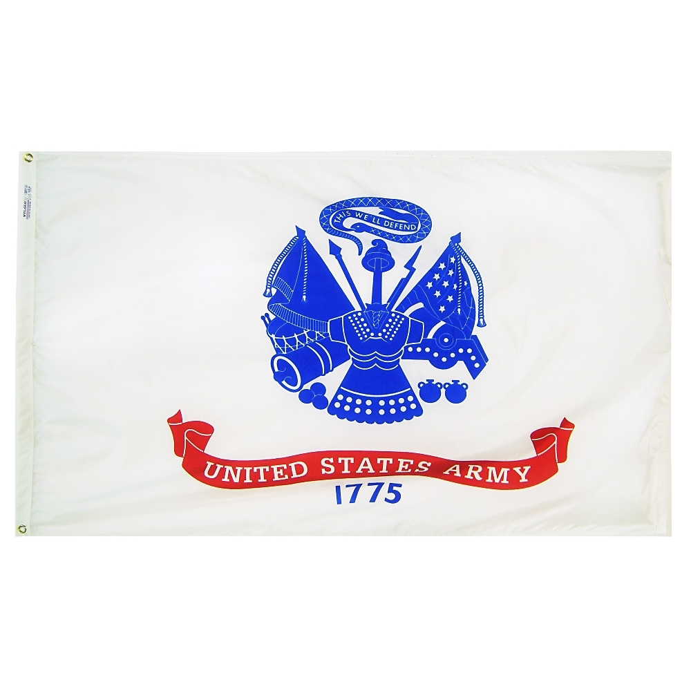 Annin Flagmakers US Army 3' x 5' Nyl-Glo Military Flag