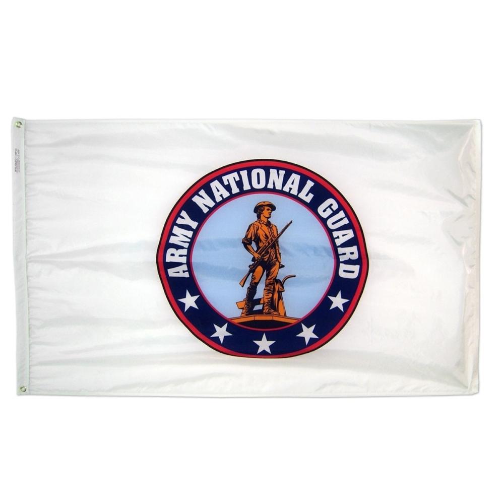 Annin Flagmakers US National Guard 3' x 5' Nyl-Glo Military Flag