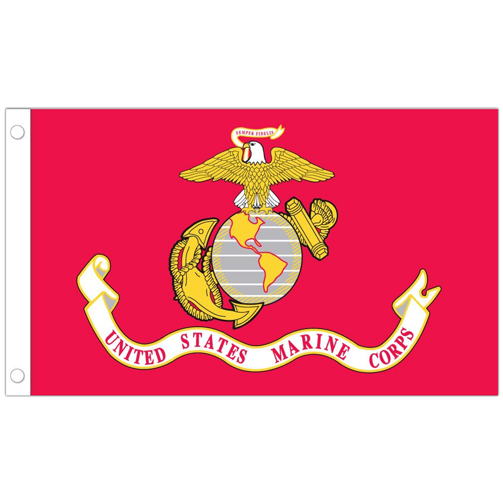 Allied Products Marine Stick Flag