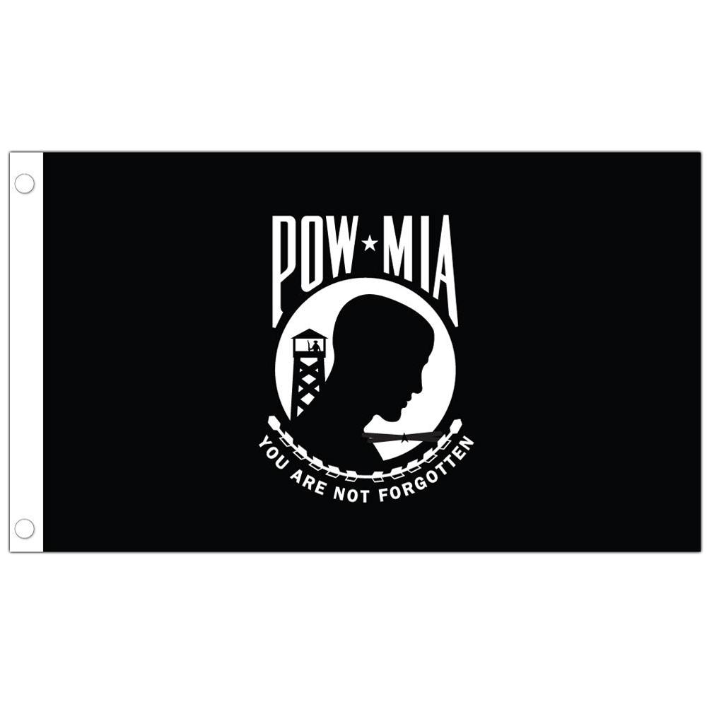 Allied Products U.S. POW/MIA Stick Flag