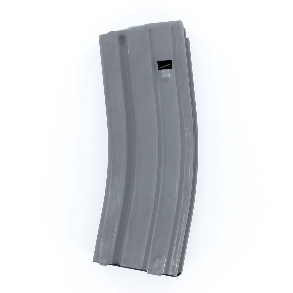 ASC .223 / 5.56 mm 30 Round Magazine, Aluminum, Grey Finish, Anti-Tilt Follower