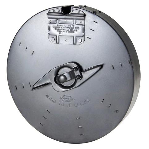 Thompson 45 Cal 100 rd Drum Magazine