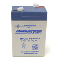 Fire Vulcan Replacement Battery, Rechargeable Sealed Lead Acid