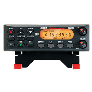 Uniden BC-355N Scanner, 300 Channels with Mobile Operation