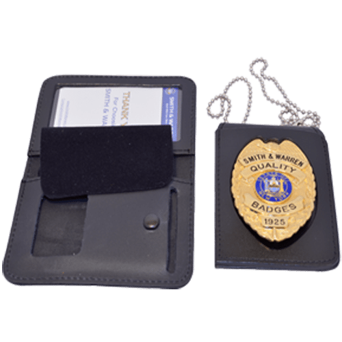 Smith & Warren 4 in 1 Badge Case with Single ID Window