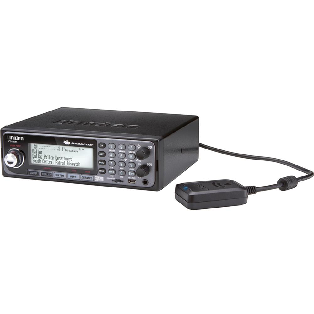 Uniden BCD536HP HomePatrol Series Scanner with Wi-Fi