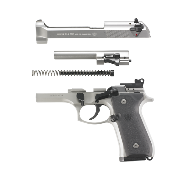 Beretta 92FS Semi-Automatic Inox 9mm with Trijicon Night Sights