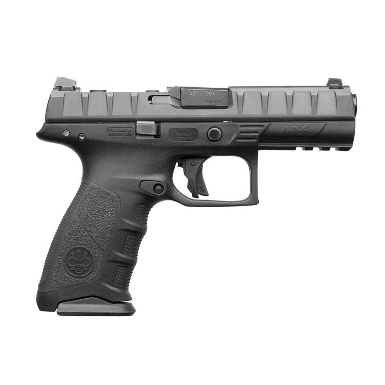 Beretta APX Full Size 9mm, 3 Dot sights, 10rd Magazine