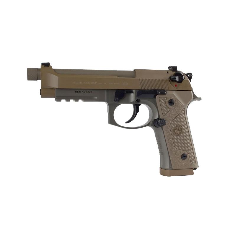 Beretta Flat Dark Earth M9A3 Type G Semi-Automatic 9mm, (3) 10rd Magazine