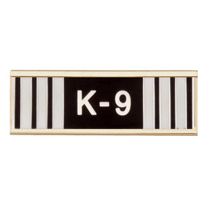 Blackinton Commendation Bar K9 Handler