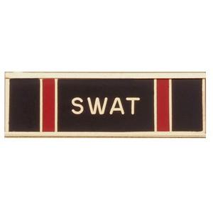 Blackinton Commendation Bar SWAT Certification