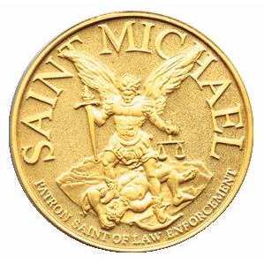 Blackinton St. Michael Challenge Coin