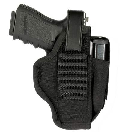 BLACKHAWK Ambidextrous Holster with Mag Pouch, Black