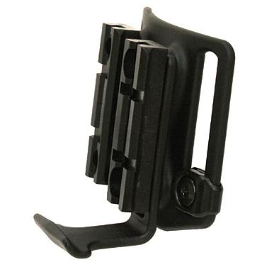 Blackhawk Carbon-Fiber Dual Rail™ Belt Loop Accessory Platform, Black