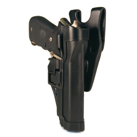 Blackhawk SERPA Auto Lock Level 2 Holster, Black